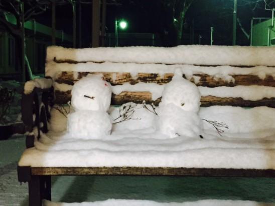 H28-1-25雪だるま①